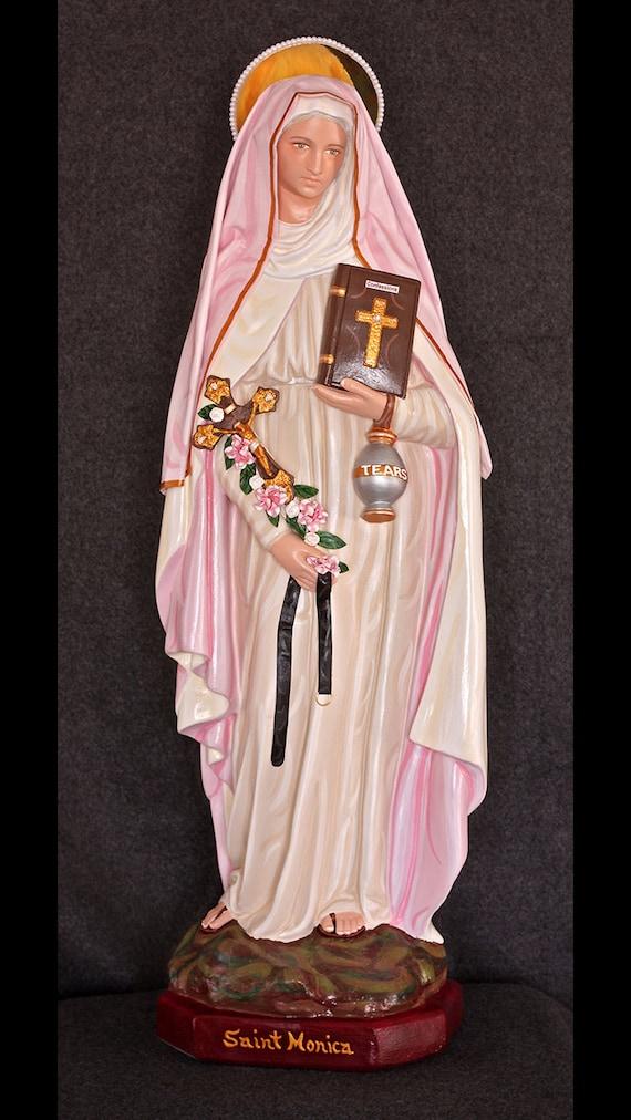 """St. Monica 26"""" Catholic Christian Statue BEAUTIFUL!!!"""