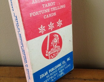 Rare Vintage Zolar's Astrological Tarot Cards