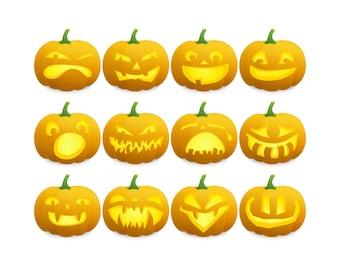 Halloween pumpkin clipart jack-o-lanterns pumpkin pie