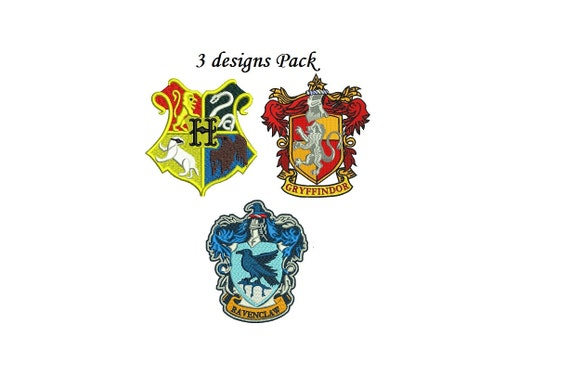 Harry potter embroidery design pack designs by