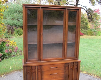 Kent Coffey Perspecta China Hutch, Mid Century Modern China Cabinet