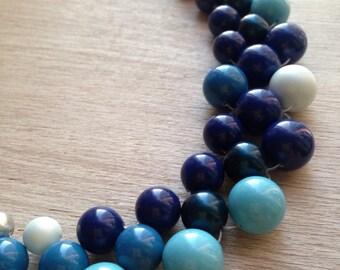 "Necklace ""Shades Of Ocean"""