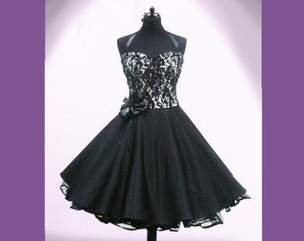 Wonderful Petticoat dress in the style of the 50s