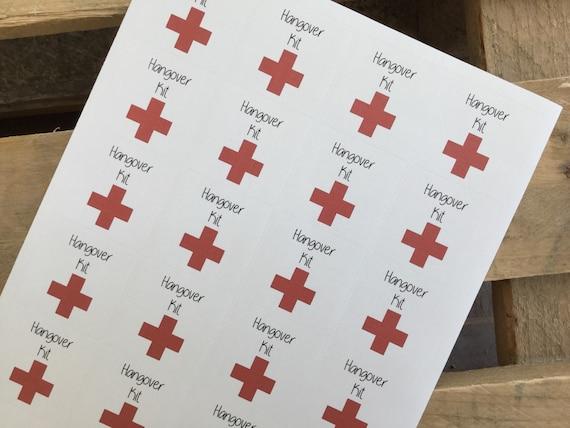 Wedding Favor Tag Kit : Kit Sticker, Bridal Shower, Wedding Favor Tag, First Aid, Bridal ...