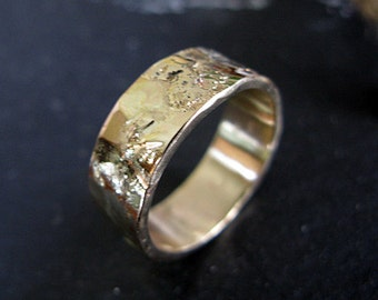 Mens Wedding Band Mens Wedding Ring Rustic Mens Wedding Bands Gold Wedding Band Unique Mens Wedding Band Viking Wedding Ring Rustic Mens