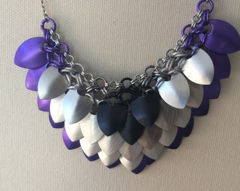 Ace Pride Scalemaille Necklace