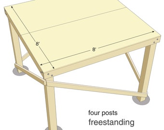 Zelkova treehouse diy plans to fit two trees - Eyrie Tree Platform High Seat Diy Plans For One Tree