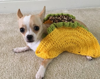 Taco Pet Costume, Taco Cat Costume, Taco Costume for Dogs, Taco Dog Costume, Halloween Pet Costume, Funny Pet Costume, Halloween for Pets