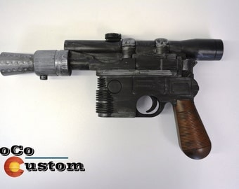 Han Solo DL-44 Blaster Prop/Replica Star Wars, Cosplay, Empire Strikes Back, Return of the Jedi, A New Hope, The Force Awakens