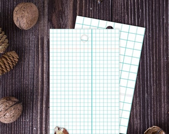 Gift Tags - Graph Pattern - Instant Download