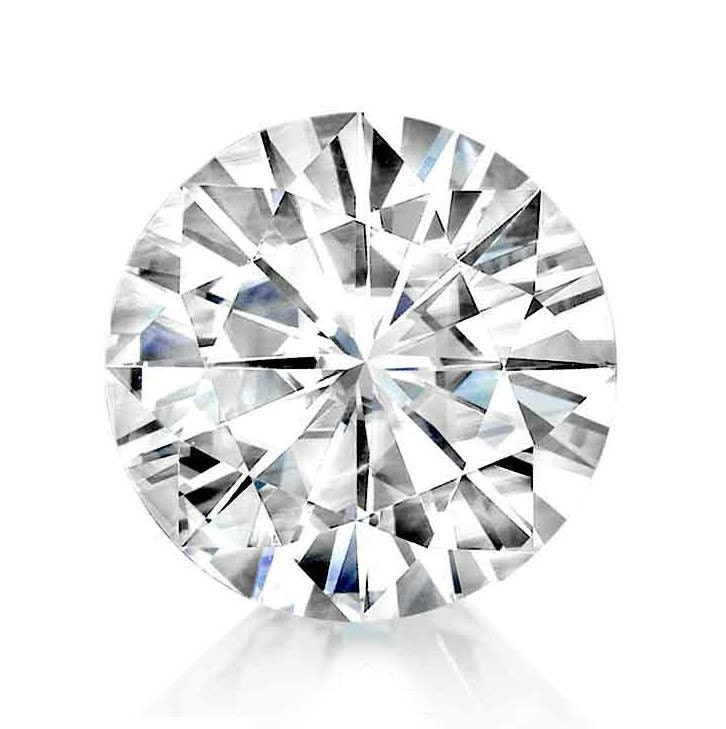 8mm Forever One Moissanite Round Loose Gemstone