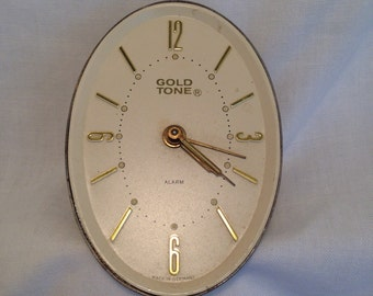 Vintage Clock Face with alarm