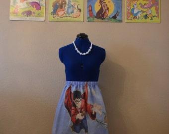Harry Potter & Golden Snitch Skirt
