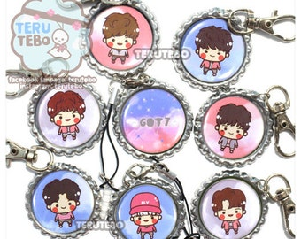 "GOT7  ""FLY"" kpop charms / keychain / phone strap"