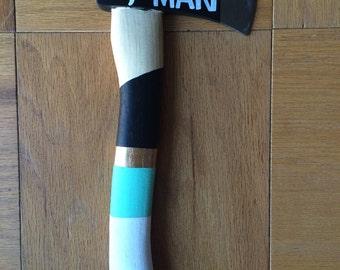 Best Man & Groomsman Gift Axe Hatchet Custom