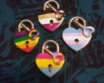 Sexuality Heart Lock