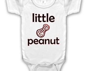 Iron on Little Peanut Onesie Logo
