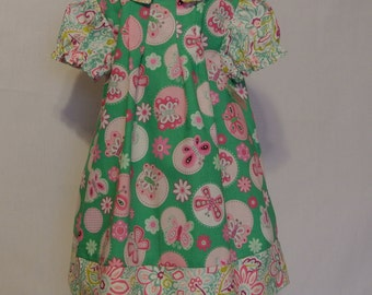 Valentine dress, Easter dress, Toddler dress, girls dress,