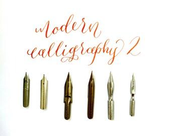 Modern Calligraphy Nibs Series 2