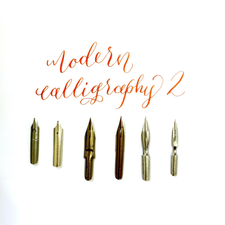 Modern calligraphy nibs series