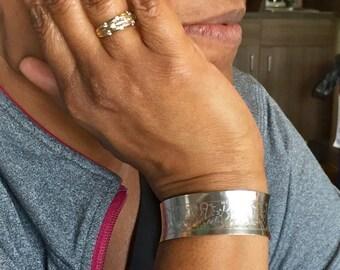 Sterling Silver Cuff Bracelet, Celtic Bracelet, Silver Celtic Design Cuff Bracelet, Celtic Design Cuff Bracelet, Sterling Silver Bangle Cuff