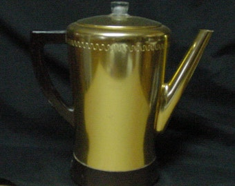 Vintage West Bend FLAVO-MATIC Percolator  6 to 8 cups
