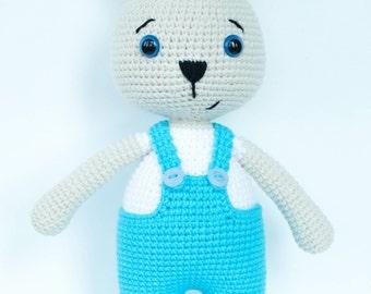"Pattern ""Bunny Daddy"" (Crochet amigurumi)"