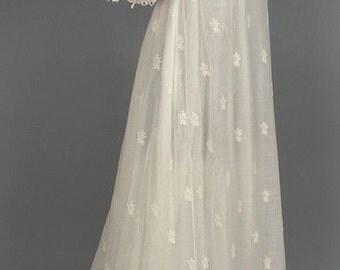Made-to-Order Regency Jane Austen Muslin Gown