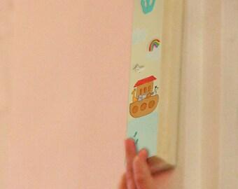 Children's Mezuzah Case -Noah Ark kids Mezuzah Case - Jewish gift - Noah ark wall decall