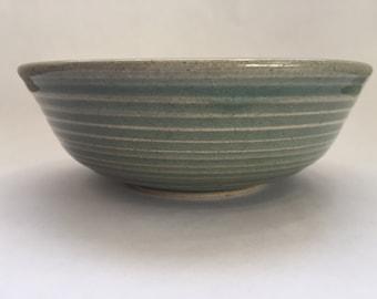Stoneware bowl with Celadon glaze Ceramic Bowl Soup Bowl Cereal Bowl