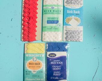 ON SALE-Lot Of Vintage Rick Rack
