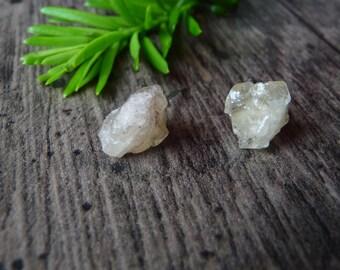 Golden Topaz Earrings - Crystal Jewelry - Birthstone