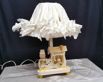 The Ayden Lamp/lampshade set