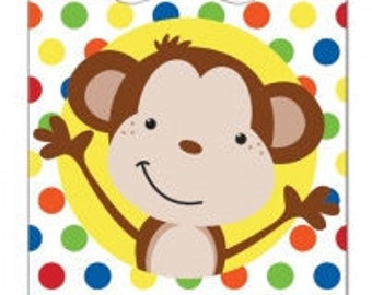 Fun Monkey Favor Bags 10ct