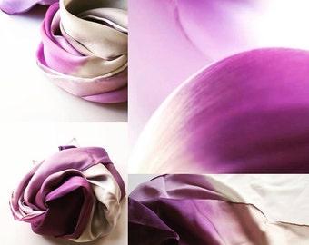 Tulip Petals Silk Scarf