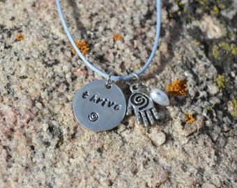 Healing Hand Charm Necklace