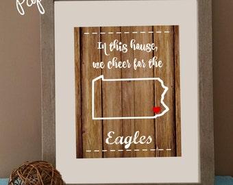 Philadelphia Eagles Printable