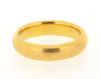 Vintage 22ct Gold Wedding Ring, 1940s Wedding Band, Vintage Wedding Ring, Vintage Wedding Band, Wedding Band, 22ct Gold Wedding Band