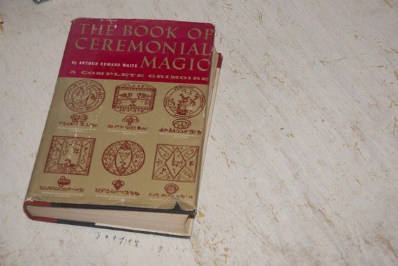 1961 vintage the book of ceremonial magic a complete grimoire