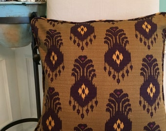 "20"" Ikat pillow"