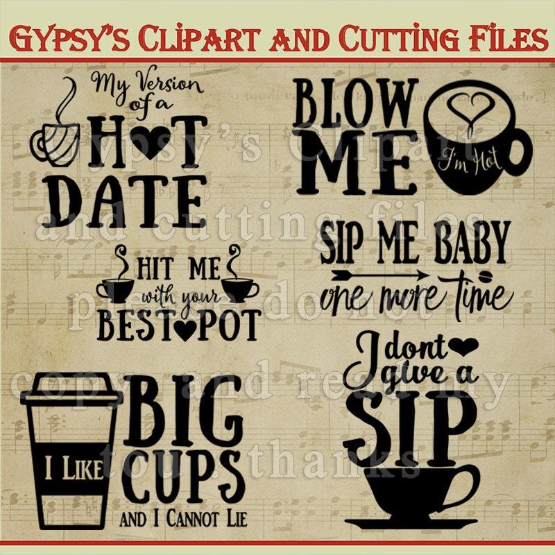 Coffee svg mug svg naughty quote Espresso Mug Clipart