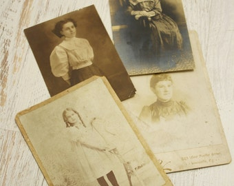antique photo lot | vintage 1900s photographs