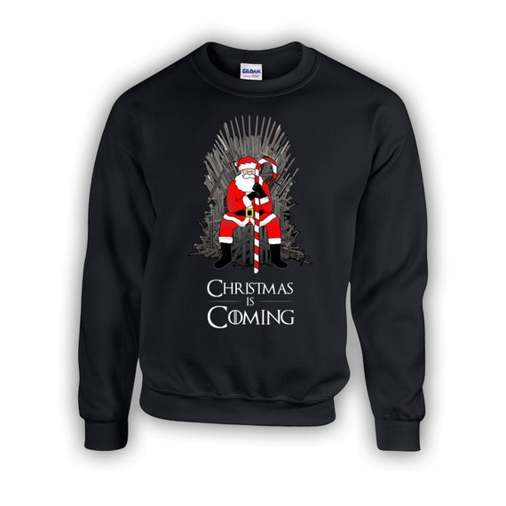 Christmas Is Coming Sweater Winter Is Coming By Blackbearwear