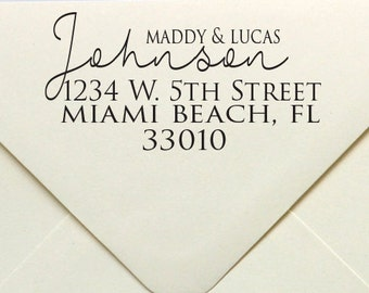 Address Stamp, Custom Stamp, Rubber Stamp, Self Inking Stamp, Personalized Stamp