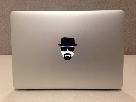 Breaking bad lamp Decal Sticker for Apple Macbook and other