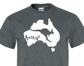 AUSTRALIA Tee SHIRT great as a gift for Men, women, and children!! tee007