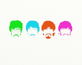 The Fab Four Digital Print