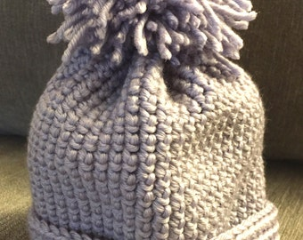 Lavender Infant cap