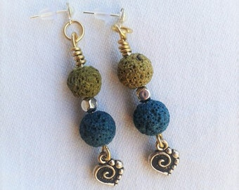 Earrings Beach