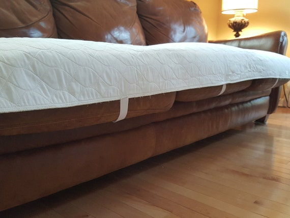 Sofa protector waterproof pad by rustic2modern on etsy for Waterproof sofa cover incontinence